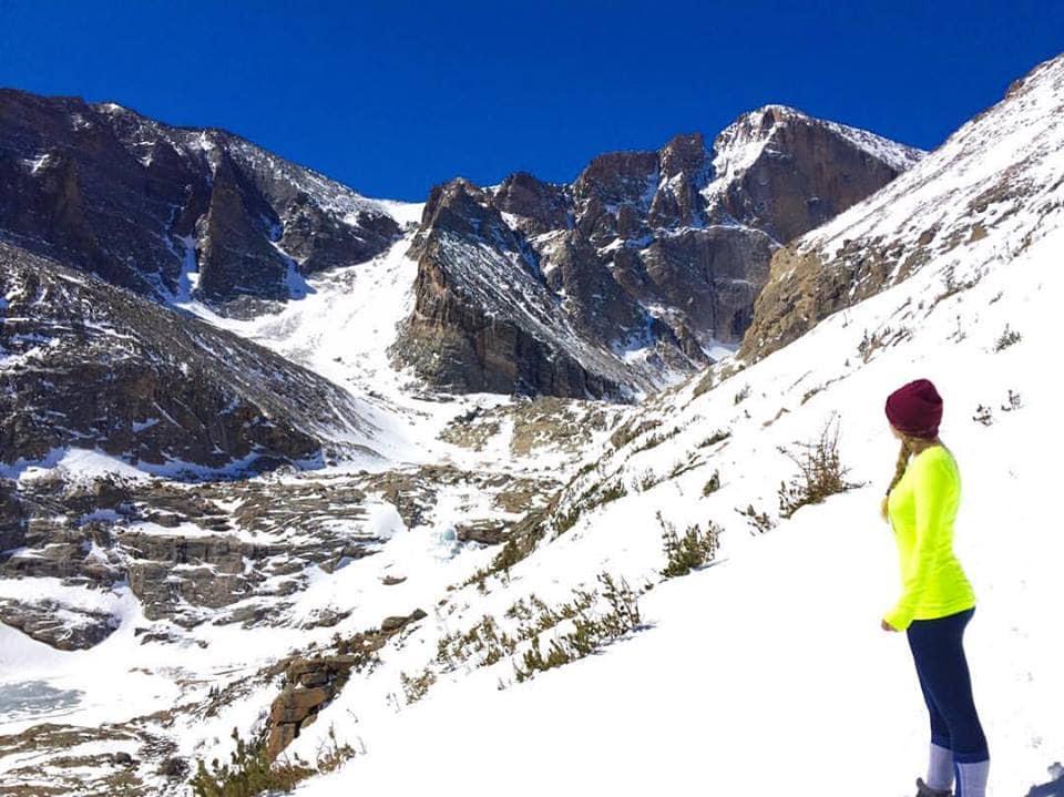 Longs Peak Winter Hike