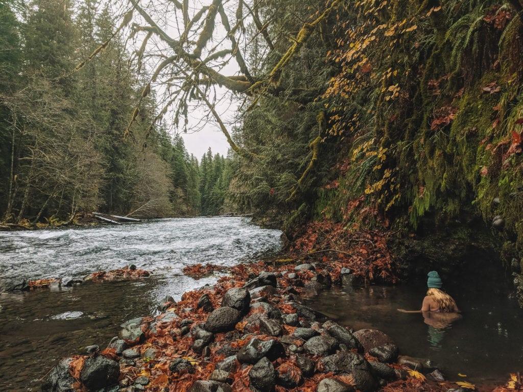 Bigelow Hot Springs- Mckenzie River, Oregon