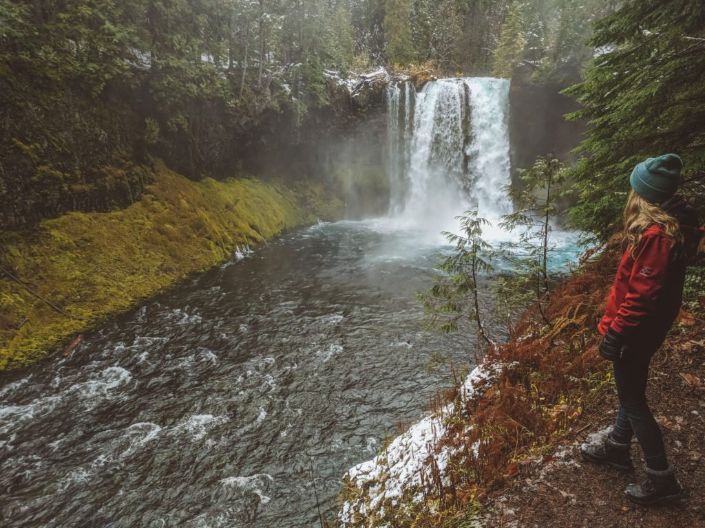 Koosah Falls, another amazing place to stop when traveling through Central Oregon.