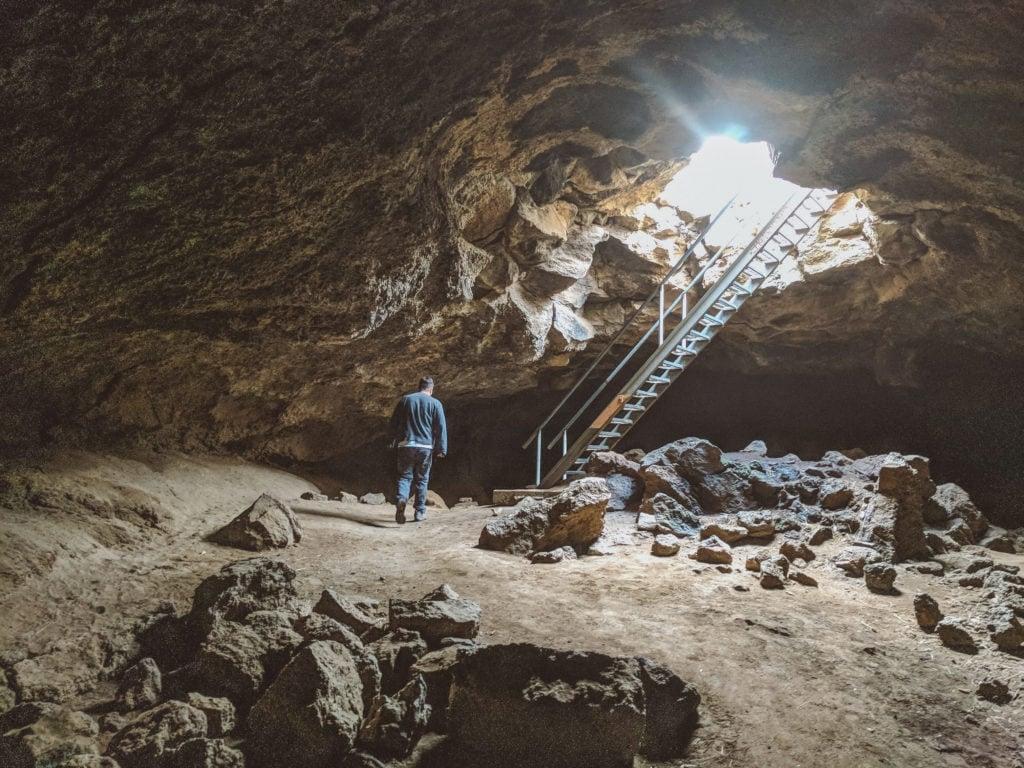 Boyd Cave, Central Oregon