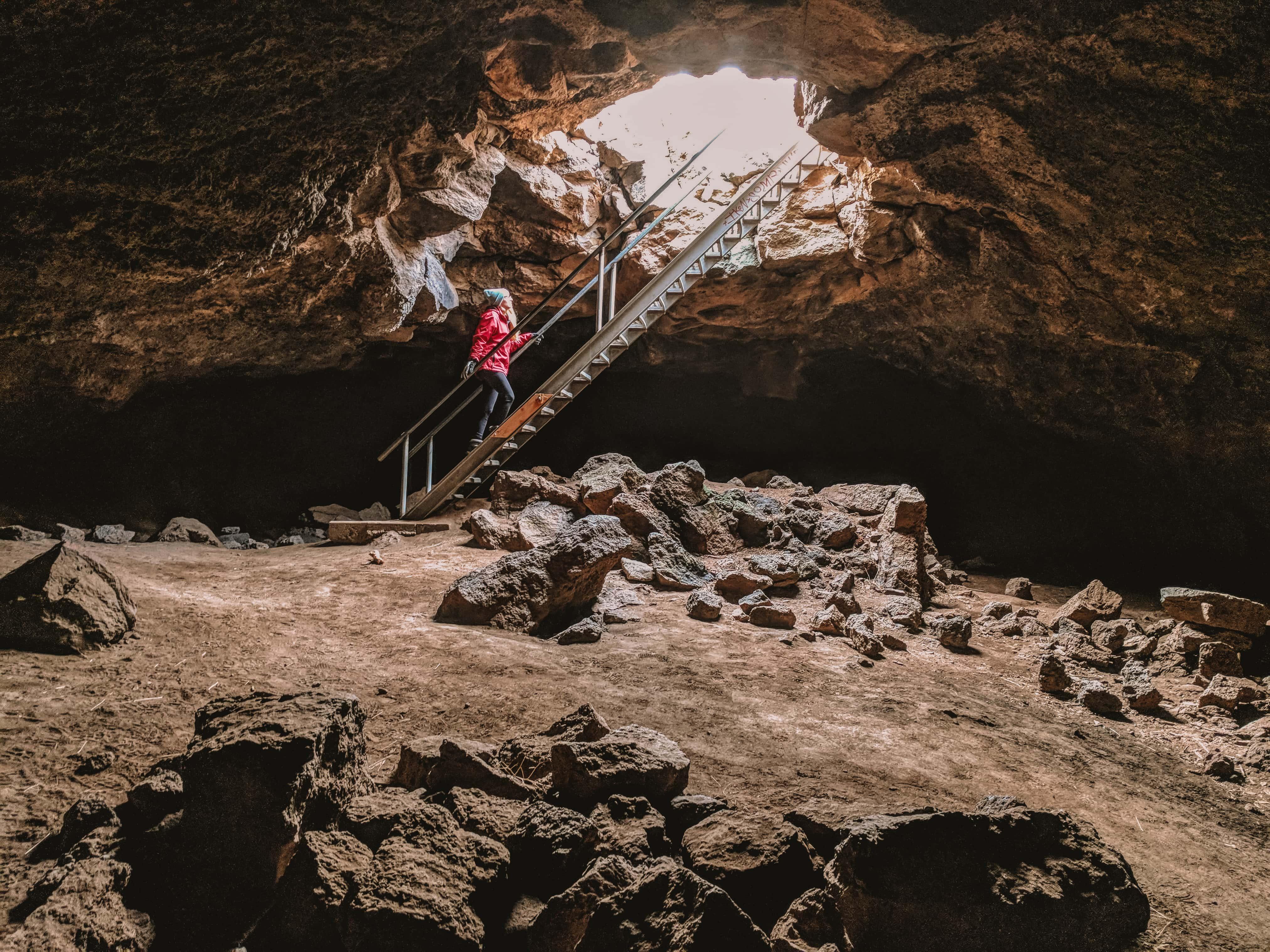 Boyd Cave - Central Oregon