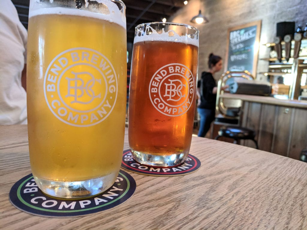 Bend is home to 22 micro breweries serving some of the world's best craft beers.