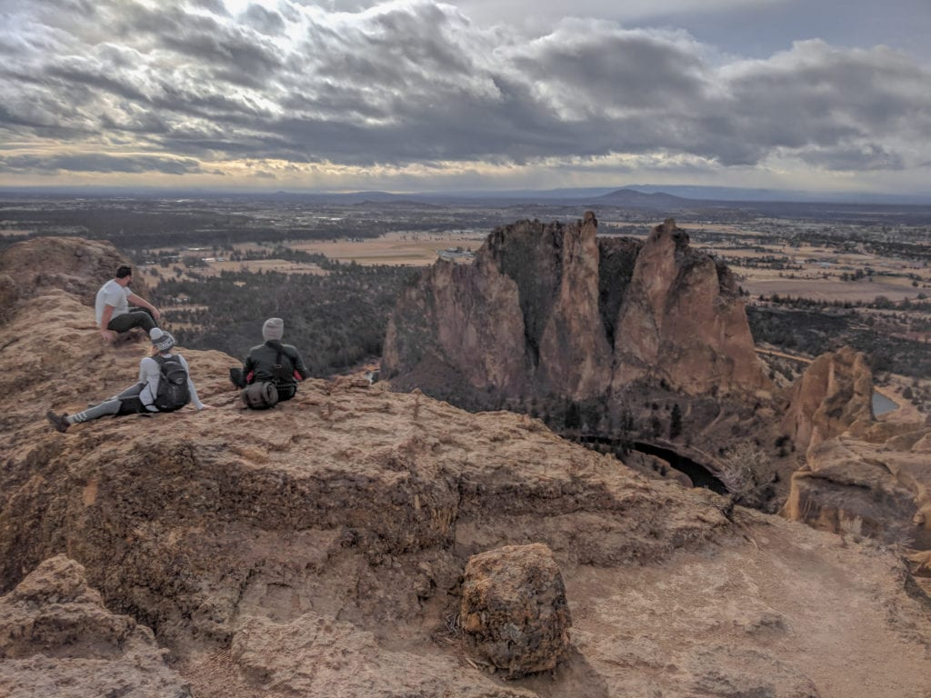 Misery Ridge Trail at Smith Rock State Park. An awesome adventure for Bend, Oregon goers, year round!