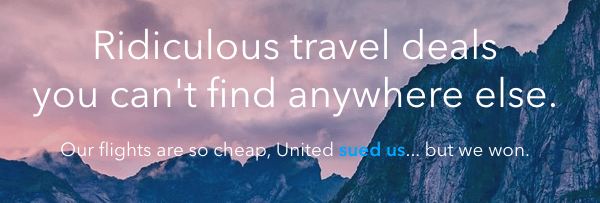 Skiplagged, one of the best websites for cheap flights