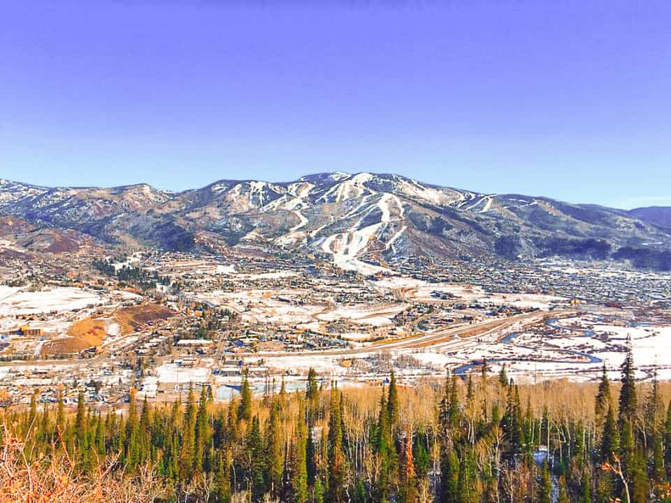 View from Emerald Mountain - Steamboat Springs