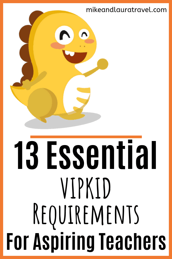 graphic about Vipkid Printable Props titled 13 Essential VIPKID Specifications for Aspiring Lecturers