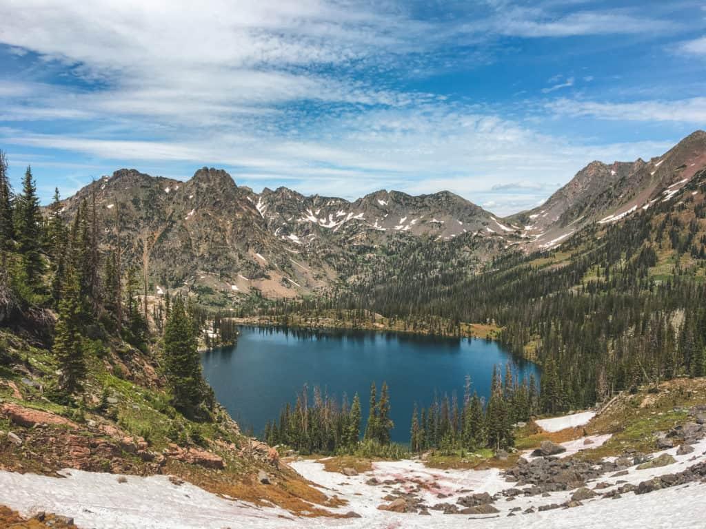 Gilpin Lake, Zirkel Wilderness