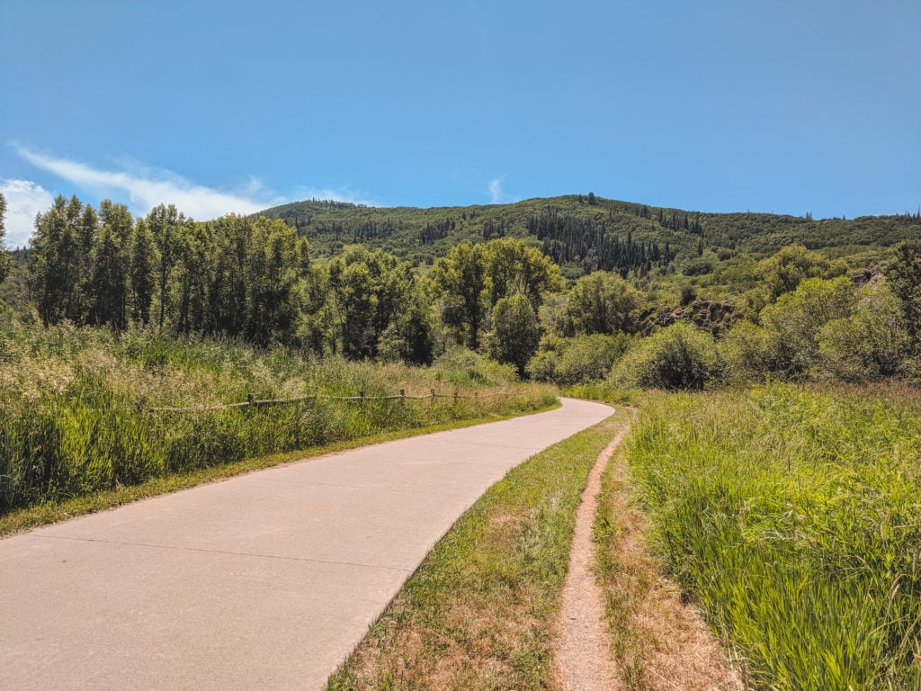 Steamboat Springs Core Trail in Summer