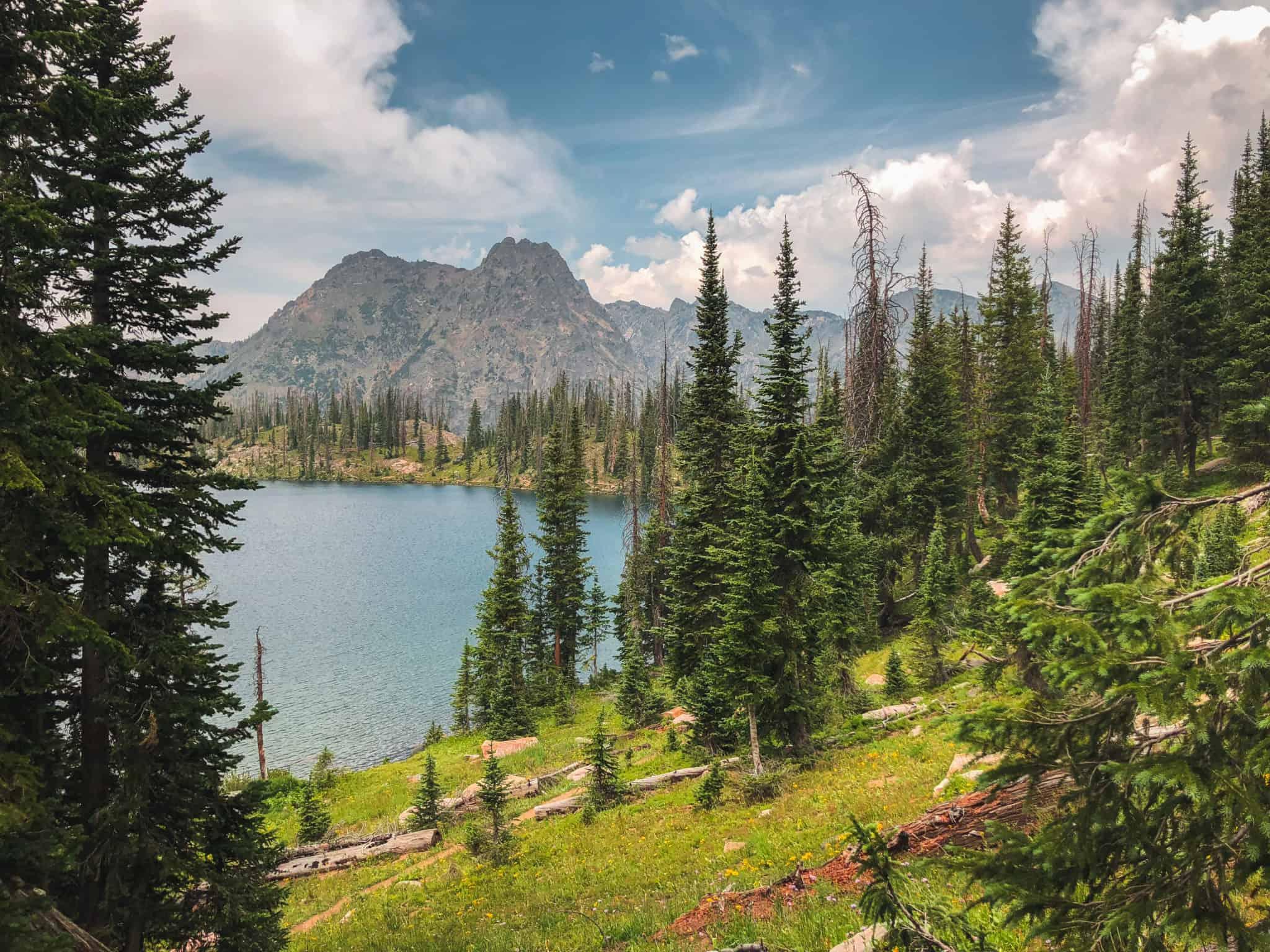 Gilpin Lake - Zirkel Wilderness