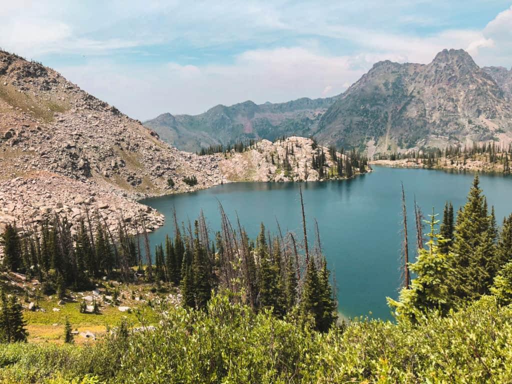 Gilpin Lake, Mount Zirkel Wilderness
