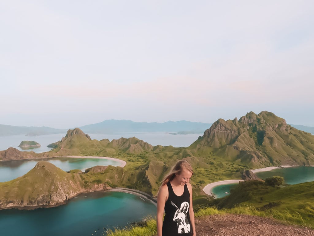 After a Short Hike to the Top of Padar