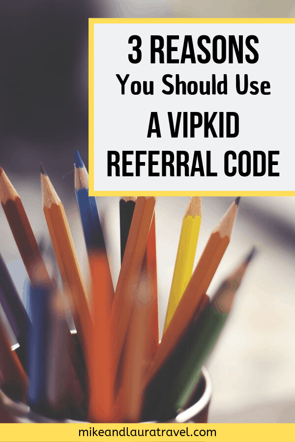 VIPKID Referral Code Save to Pinterest