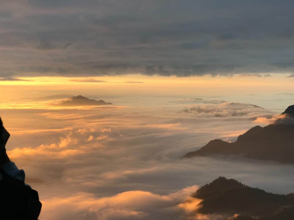 Phu Chi Fa at Sunrise