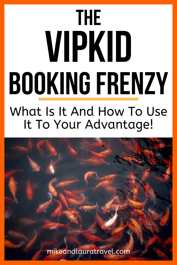 VIPKID Booking Frenzy - Save to Pinterest