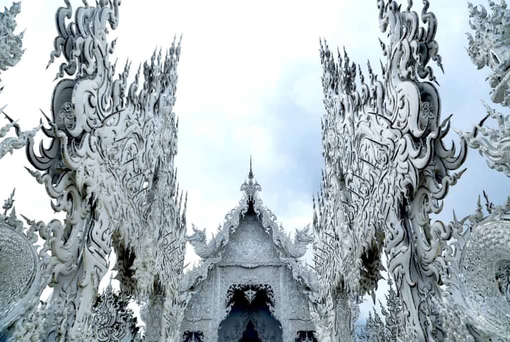 Wat Rong Khun, The White Temple