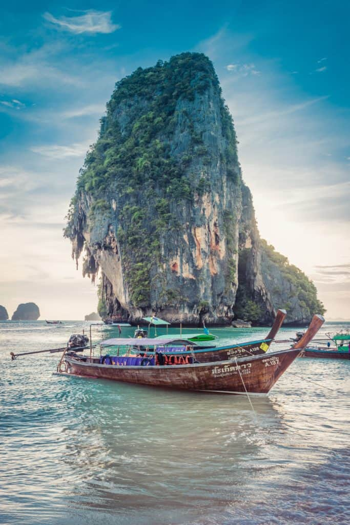 Thailand Itinerary, Island Route