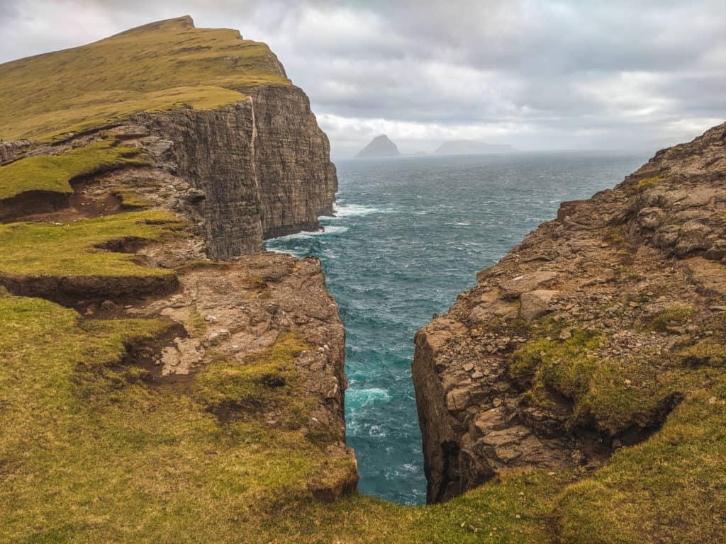 Cliffs in the Faroe Islands