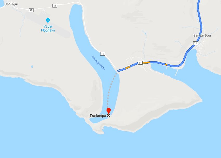 How to get to Sørvágsvatn
