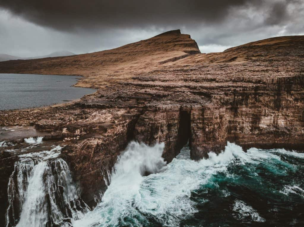 Bøsdalafossur Waterfall