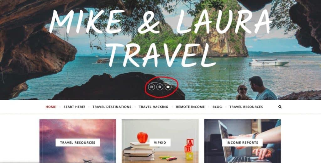 Social Media Feeds - How to Make Money as a Travel Blogger