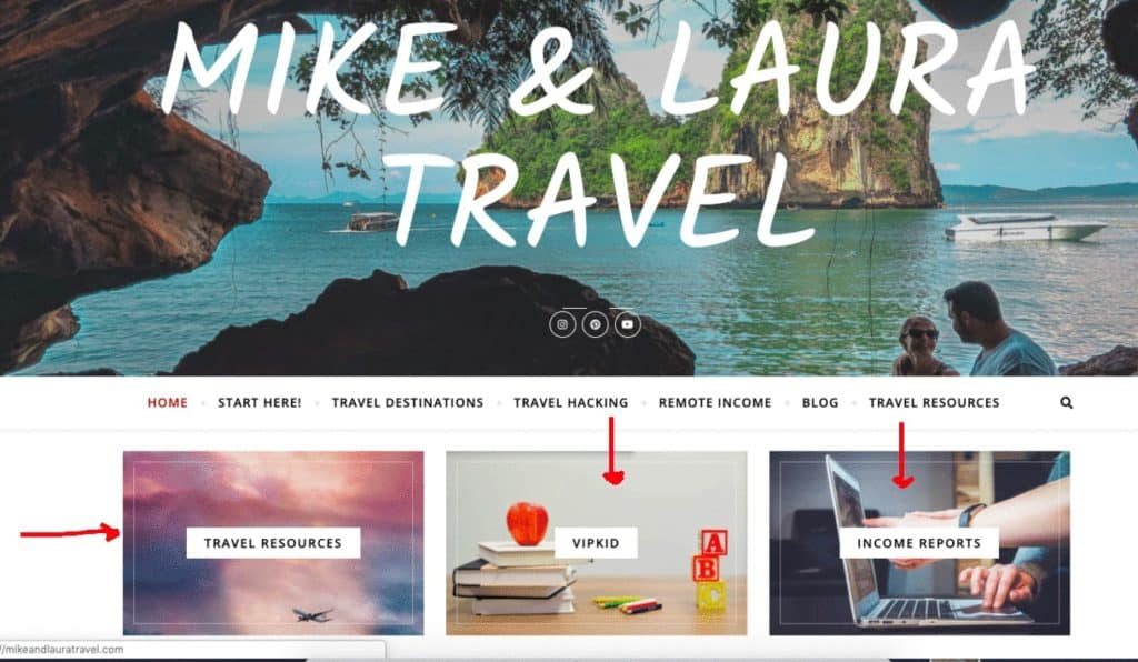 Creating Pillars for your Travel Blog