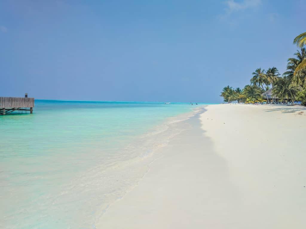 Beaches of Maldives - Meeru Island