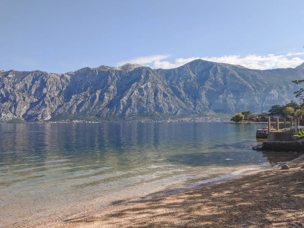 Staying in Stoliv, Montenegro