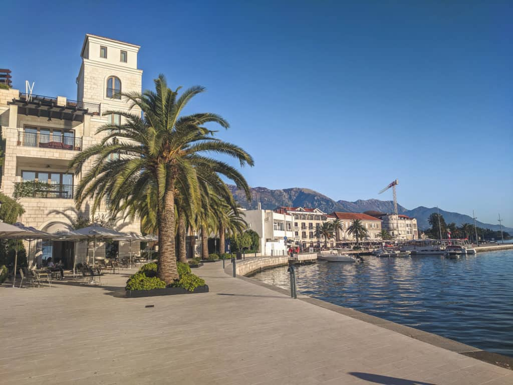 Tivat Promenade Best Places to Visit in Montenegro