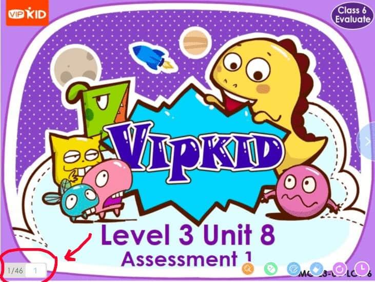 Unit Assessment VIPKID Number of Slides