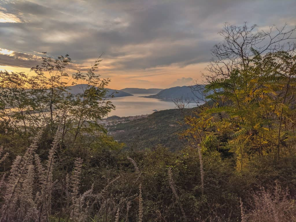 Tivat at Sunset - Best Places to Visit in Montenegro