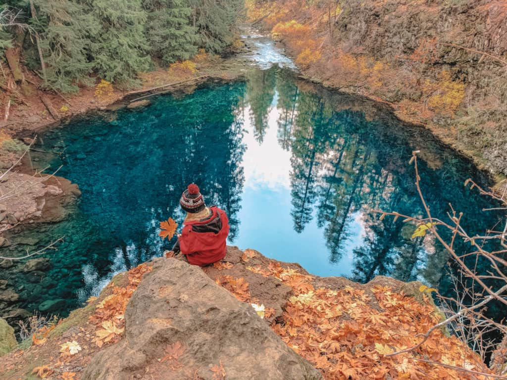 Tamolitch Blue Pool Hike Near Bend