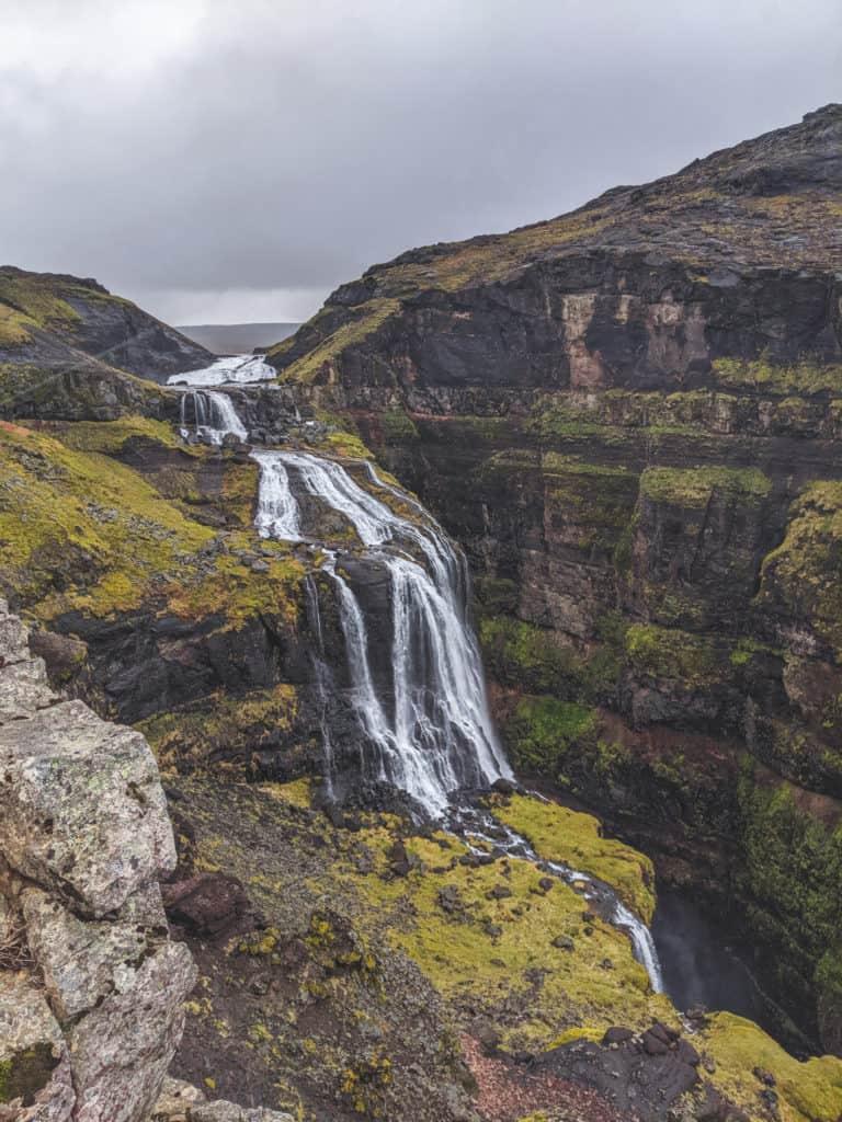 Glymur Hike near Reykjavik