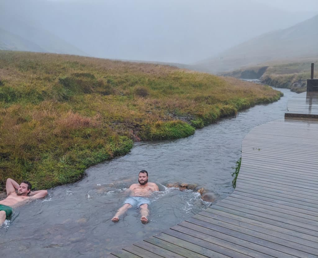 Hot Springs, Day Hikes in Iceland