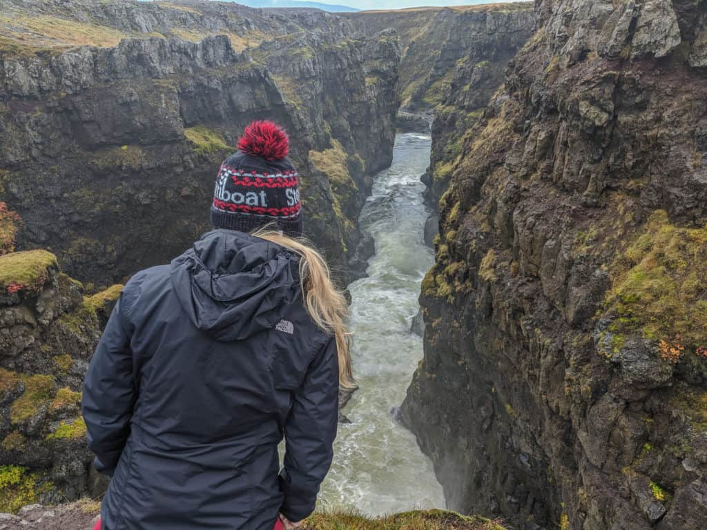 Kolugljufur Canyon: Day Hikes in Iceland