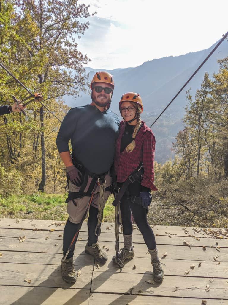 Tara River Canyon Ziplining