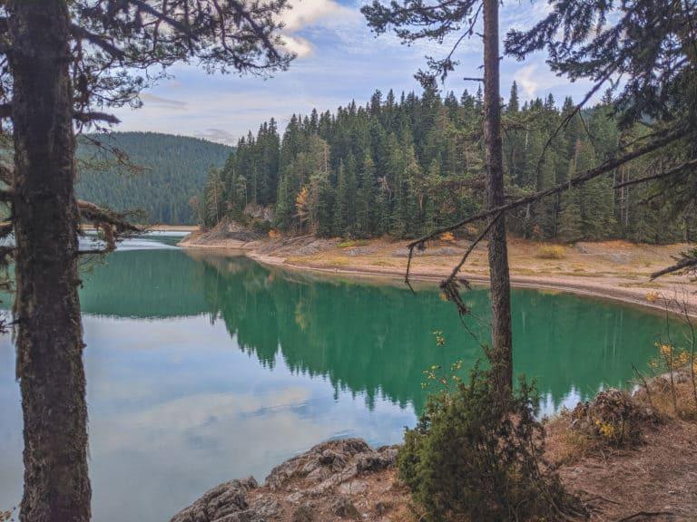 Exploring Black Lake in Montenegro