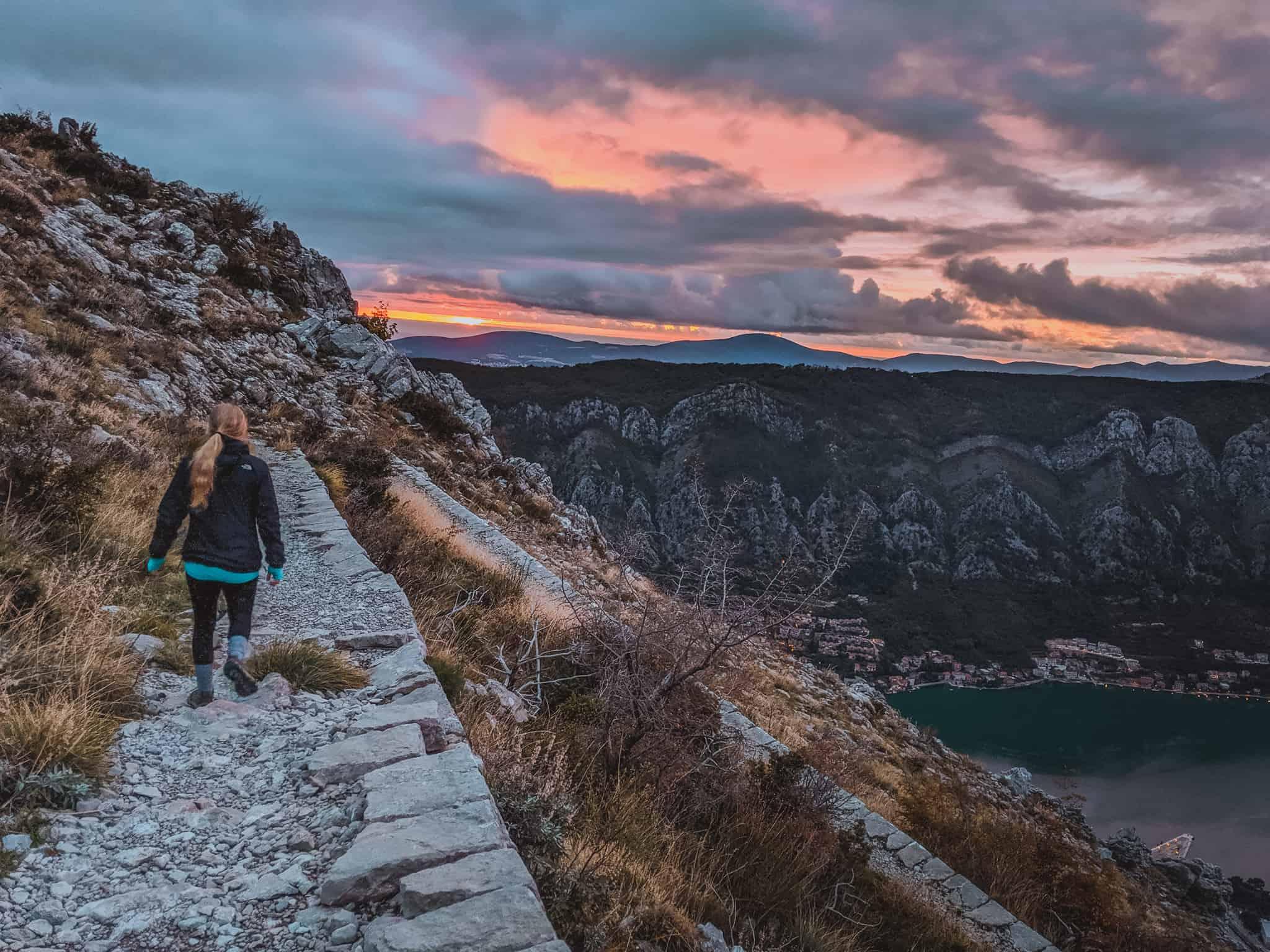 Montenegro Road Trip: Hiking the Ladder of Kotor