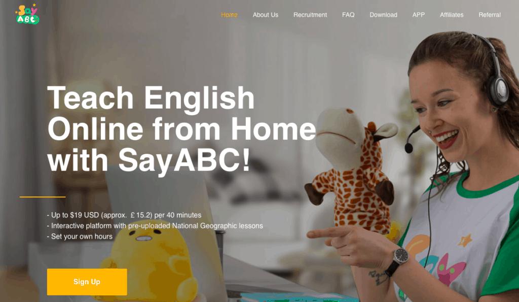 SayABC: Teach Kids English Online