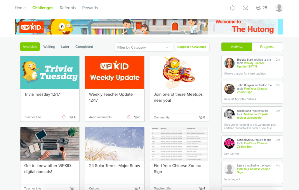 VIPKID Challenges in the Hutong