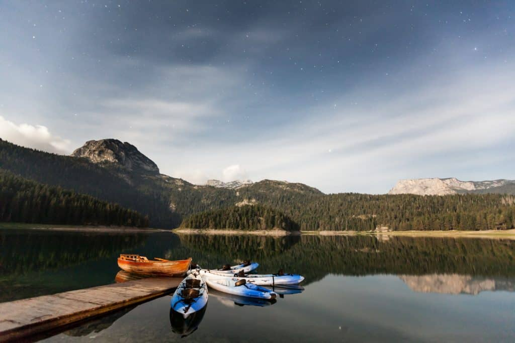 Boating in Durmitor National Park