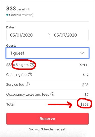Book More Days on Airbnb for a Discount