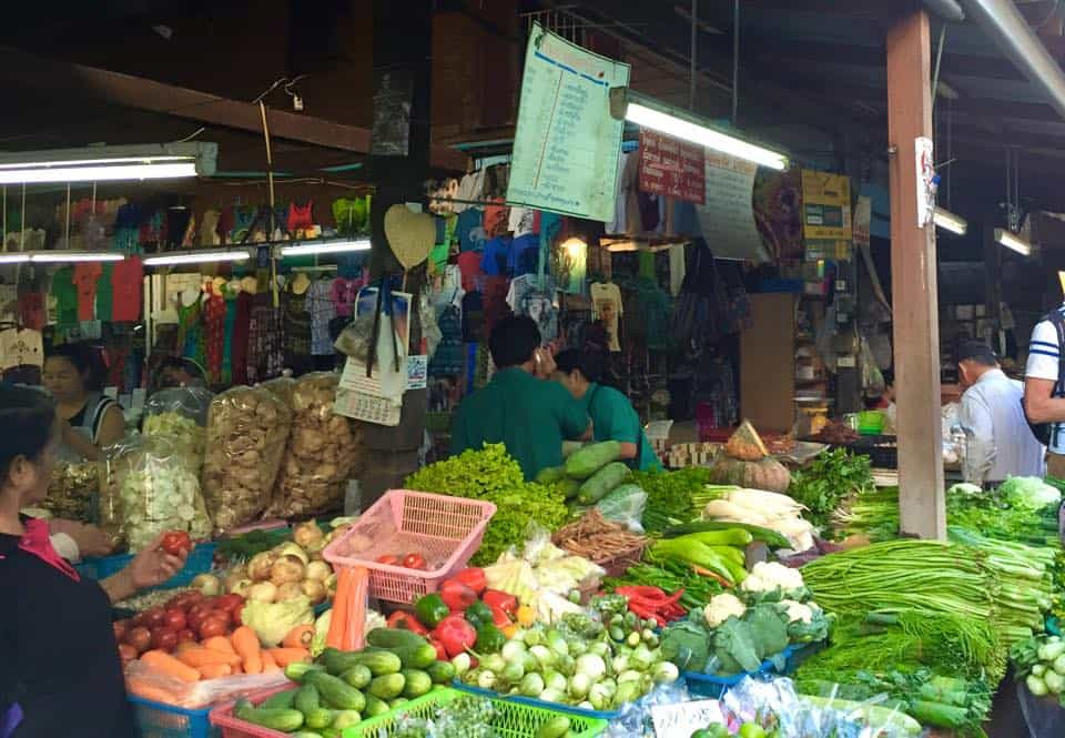 Bargaining for Food at Thai Markets
