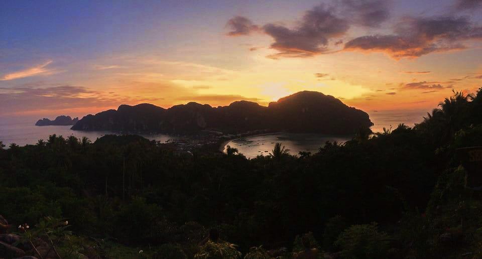 Ko Phi Phi Sunset Viewpoint