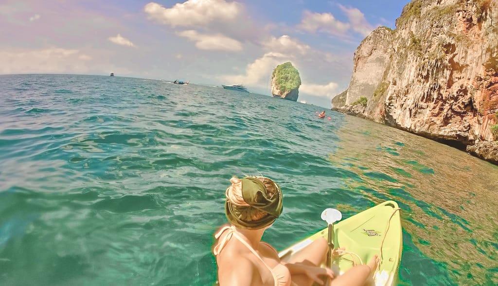 Kayaking In Ko Phi Phi