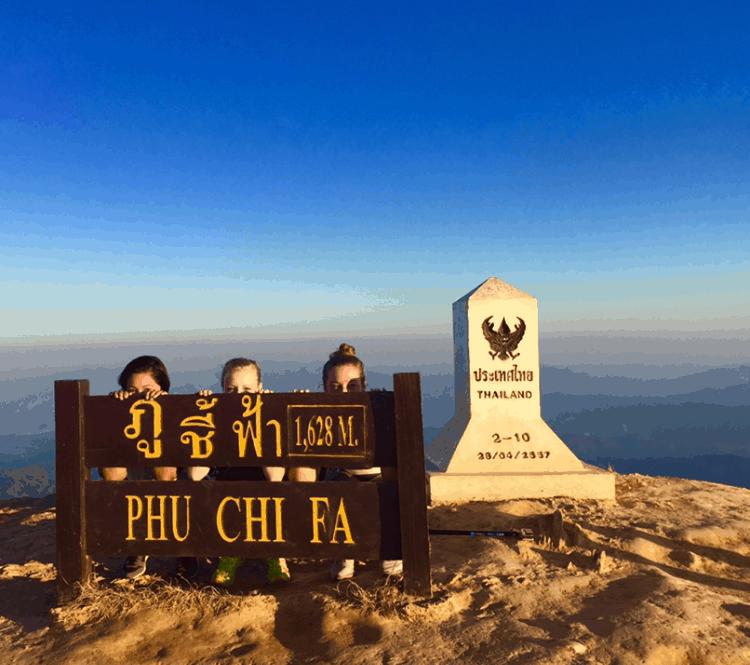 Phu Chi Fa, Thailand