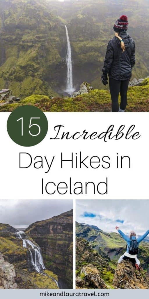 Day Hikes in Iceland