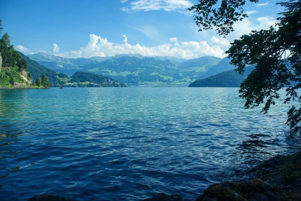 Lake Thun and Lake Brienz, Switzerland