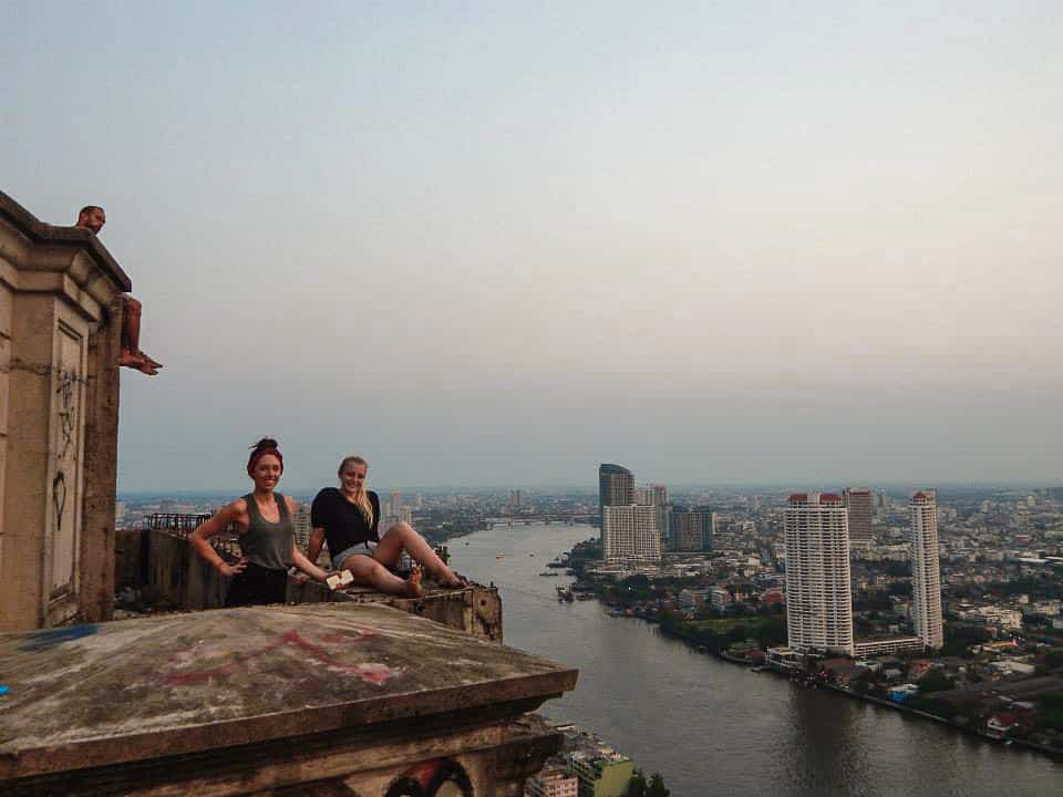 Adventurous Things To Do in Thailand - Climb Bangkok's Ghost Tower