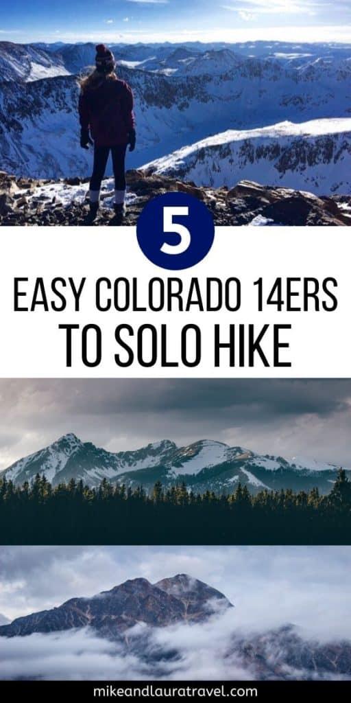 Easiest 14ers in Colorado