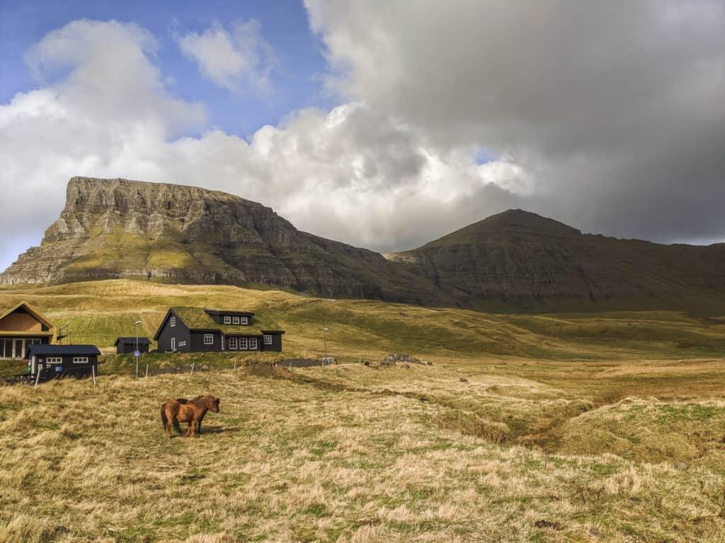 Countryside in the Faroe Islands
